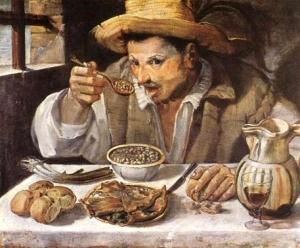 Mangiafagioli - Annibale Caracci (1583-84)