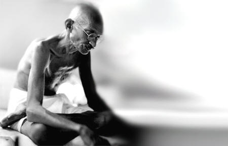 Mahatma Gandhi: il digiuno