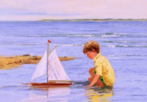 Sally Swatland - Afternoon Sail