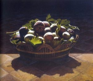 I fichi di Salvatore - Claudio Cattaneo olio su tela 2002