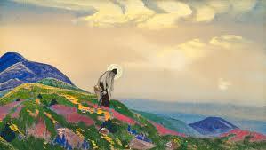 San Pantaleone  - Nicholas Roerich painting